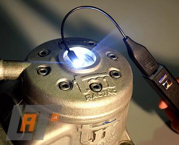 LAMPADA LED PER ISPEZIONE RAPIDA CARBURATORE GO-KART